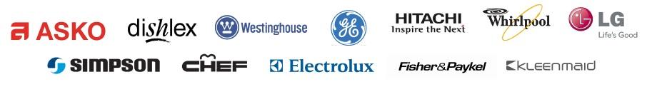 Brands we repair at Perth Appliance Repair